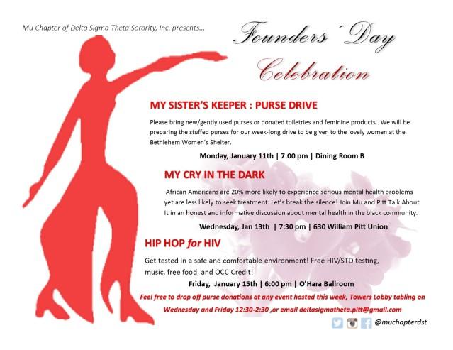 FOunders Week flyer